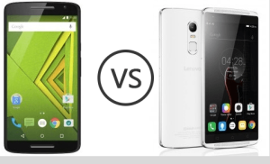 Lenovo Vibe X3 vs Moto X Play 32GB