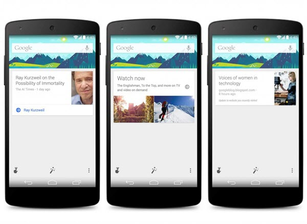 Google Now For Android